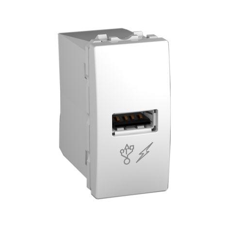 Cargador simple USB 1 A Unica Polar SCHNEIDER ELECTRIC MGU3.428.18