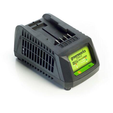 """main image of """"Cargador universal de Greenworks para baterías de productos de 24 V G24UC"""""""