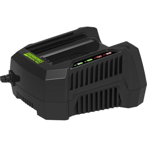 Cargador universal de Greenworks para baterías de productos de 82 V GC82C