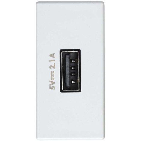 CARGADOR USB 5VDC 2.1A TIPO A HEMBRA SIMON 2701097-030