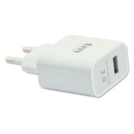 CARGADOR USB DE CARGA RAPIDA 2.1A TM