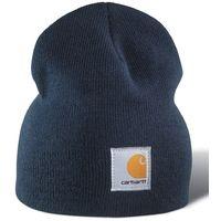 9309534a48e Carhartt Acrylic Knit Beanie - Navy A205NVY Mens Winter Beanie Ski Hat  Universal