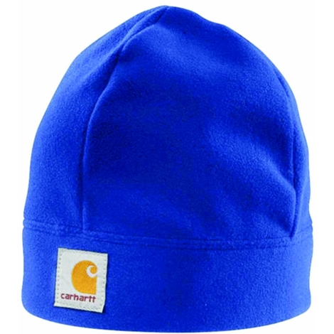 58acbc81405090 Carhartt Fleece Beanie Cap - Cobalt Mens Warm Winter Beanie Ski Hat  Universal -