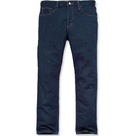 Carhartt - Jeans de travail 5 poches denim stretch coupe cintrée - 102807
