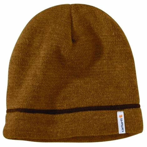 59c58290bc2814 Carhartt Maysville Acrylic Hat - Brown Mens Thinsulate Winter Beanie Ski Hat  Universal -