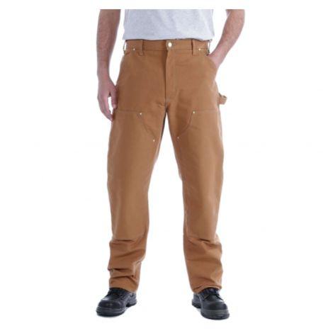 Carhartt - Pantalon renforcé type charpentier en Cotton Duck brut - B01