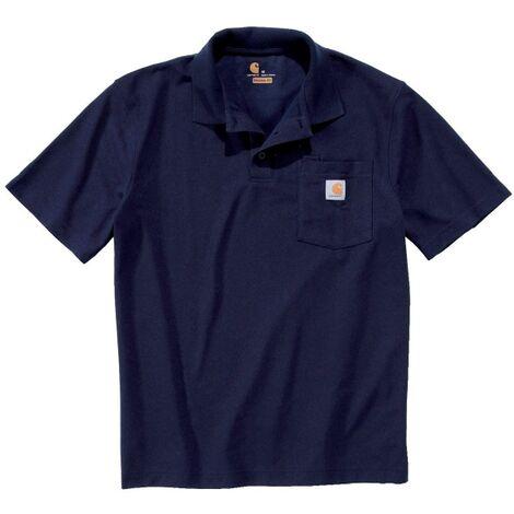 Carhartt - Polo manches courtes maille piquée poche poitrine - K570