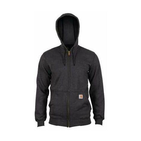 Carhartt - Sweat à capuche, poids moyen, zippé - K122