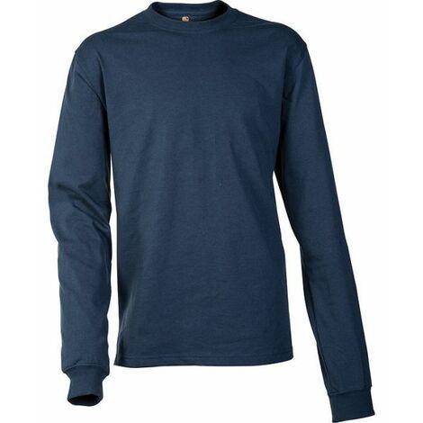 Carhartt - T-shirt coton manches longues logo manche - EK231