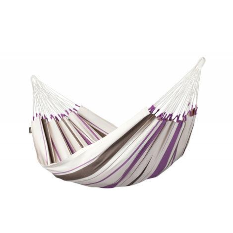 Caribeña Purple - Hamac classique simple en coton - Magenta / rose