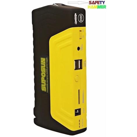 Avviatore Emergenza Portatile.Caricabatterie Portatile Jump Starter 20000 Mah Power Bank