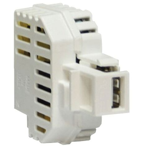 Caricatutto collection Fanton alimentation USB 5V 2.1 a blanc 82890