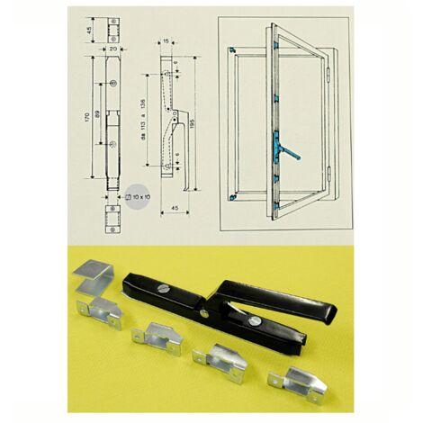 Cariglione maniglia cremonese doppia azione ibfm art 429 per asta quadra da 10mm