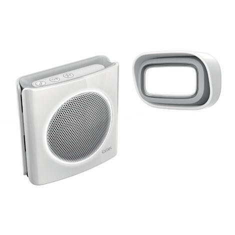 Carillon à brancher sur prise - sonnette sans fil 200m - Extel diBi MP3