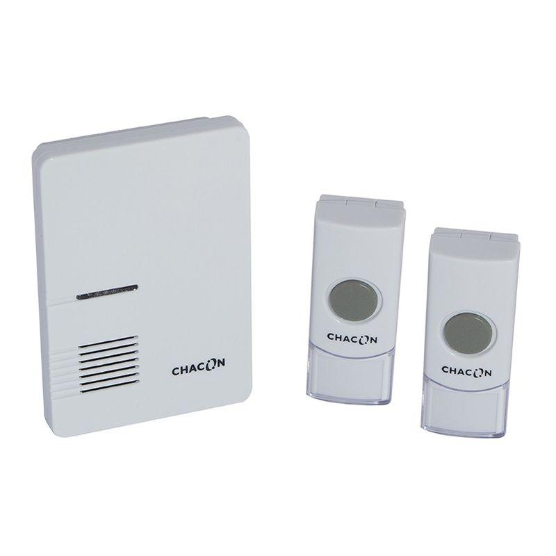 Cevikno Lot de 2 mini sonnette de v/élo avec alarme de s/écurit/é pour v/élo