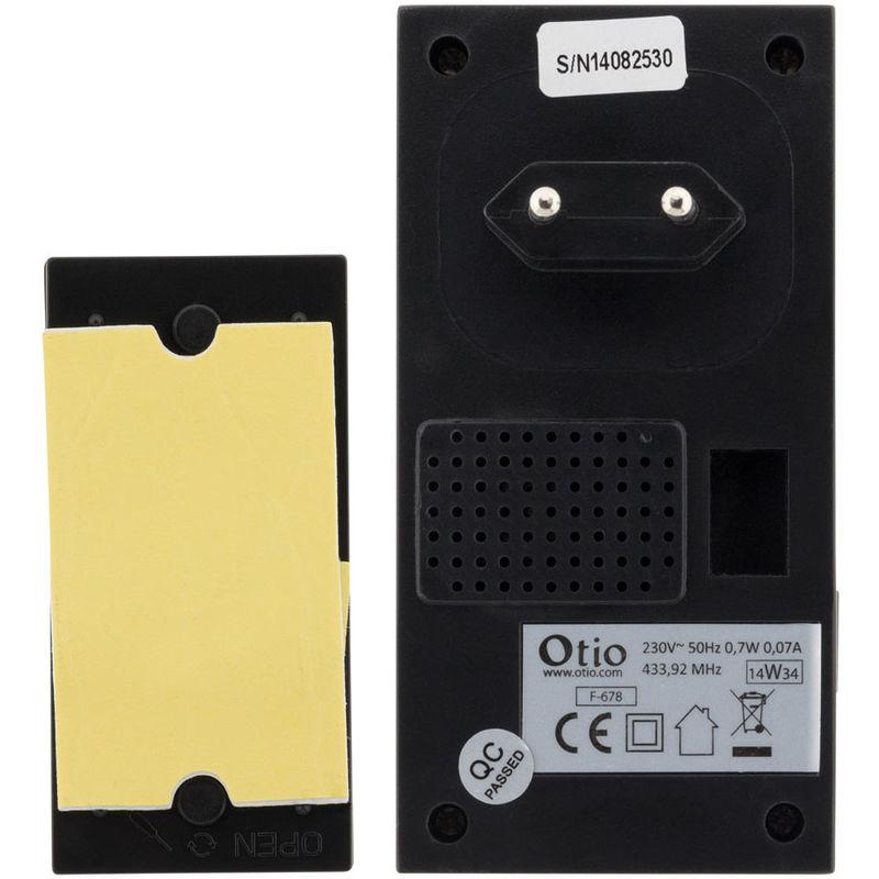 Carillon sans fil à prise CP-100 Noir Otio