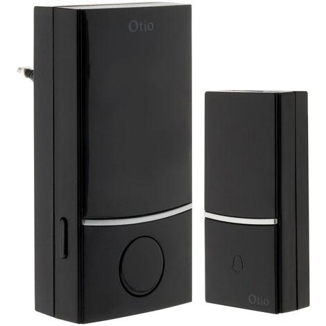 Carillon sans fil à prise CP-100 Noir - Otio