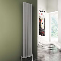 Carisa Play Oxidised Aluminium Vertical Designer Radiator 1800mm x 185mm