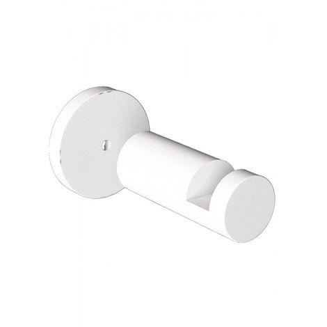 Carisa Robe Radiator Towel Hook 400mm White