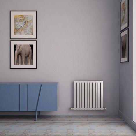 Carisa Sarp Stainless Steel Horizontal Designer Radiator 600mm x 590mm Central Heating