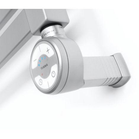 Carisa Thermostatic Towel Rail Heating Element Silver 600 Watts