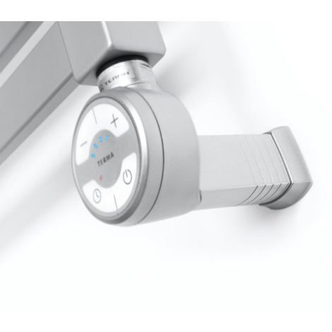 Carisa Thermostatic Towel Rail Heating Element Silver 800 Watts