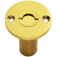 Carlisle Brass Dust Excluding Socket For Flushbolt (wood Only) - 45mm - Polished Brass