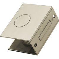 Carlisle Brass Flat Small Sliding Door Set - Satin Chrome
