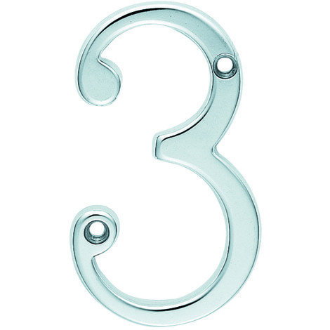 Carlisle Brass Numerals - Polished Brass - 7 Numeral