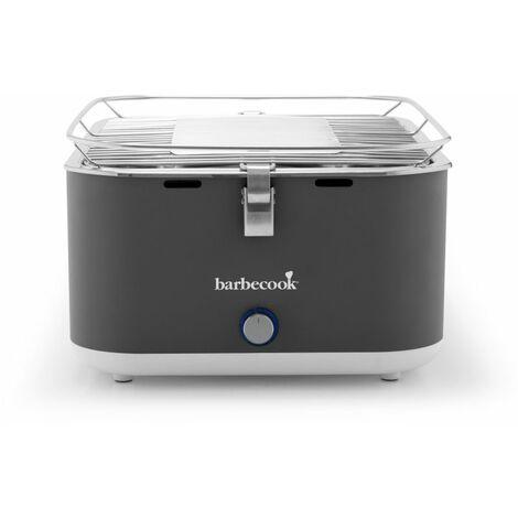 CARLO URBAN GREY - barbecue charbon de bois de table - livré avec un sac de rangement