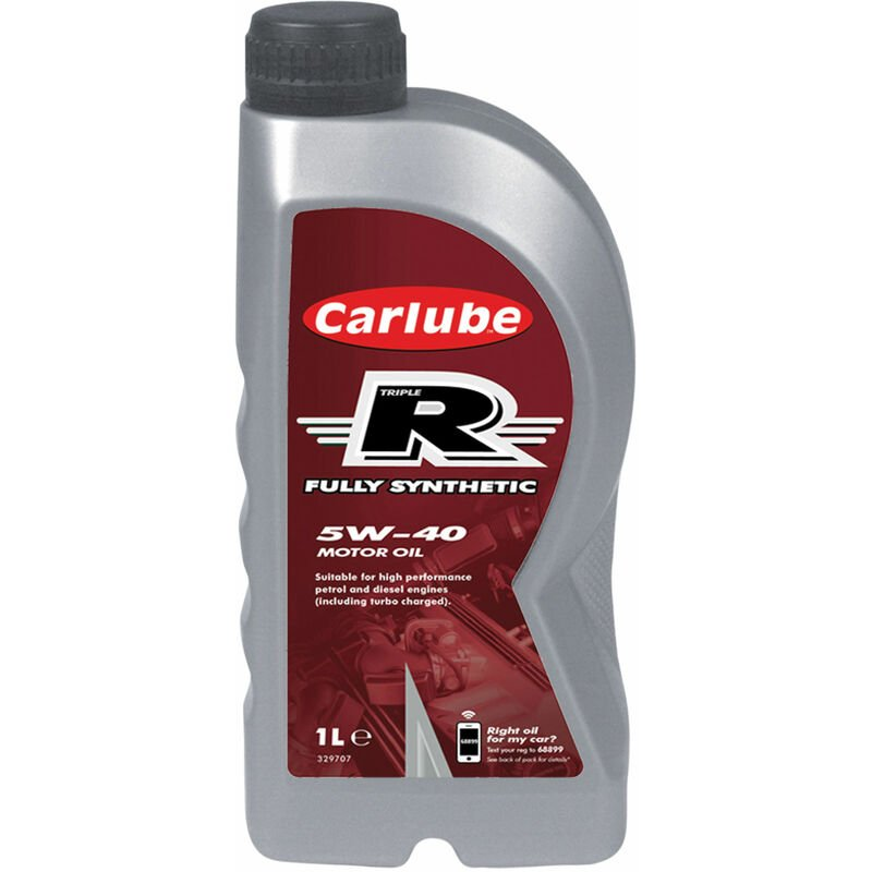 Image of Carlube XRF001 Triple R 5W-40 Fully Synthetic Oil 1 litre