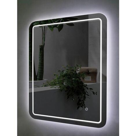 Carna 600mm x 800mm Rectangular LED Mirror