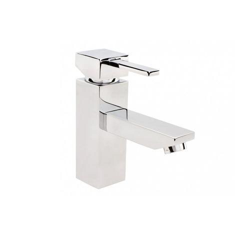 Caro standing washbasin mixer + click clack