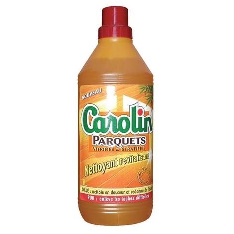 CAROLIN - Nettoyant revitalisant pour parquets vitrifiés ou stratifiés - 1 L