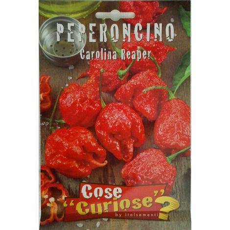 """main image of """"Carolina reaper semi di peperoncino certificati in confezione sigillata piccante"""""""