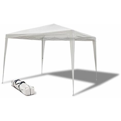 Carpa de Acero Smartsun Plegable 3x3 m Blanco