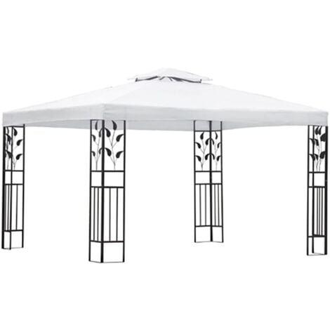 Carpa cenador blanco 3x4 m