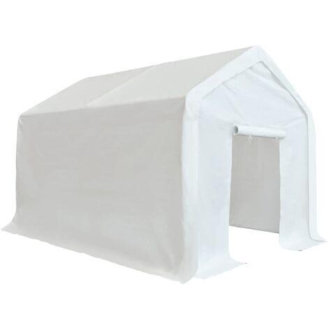 Carpa de almacenamiento PE blanco 3x4 m
