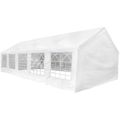 Carpa de fiestas blanco 10x5 m