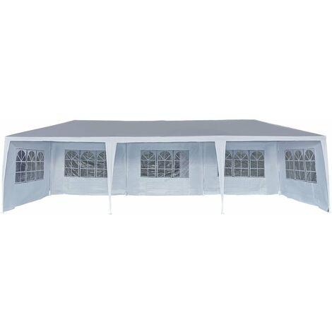Carpa de recepción Carolina 9 - 24.39 m² - 3 x 9 m - Blanco
