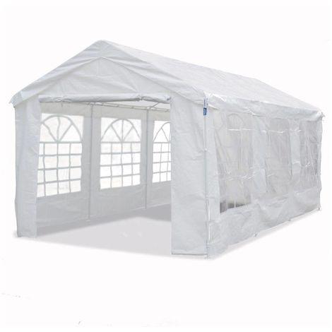 Carpa de recepción Celia de polietileno - 17.11 m² - 590 x 290 x 270/200 cm