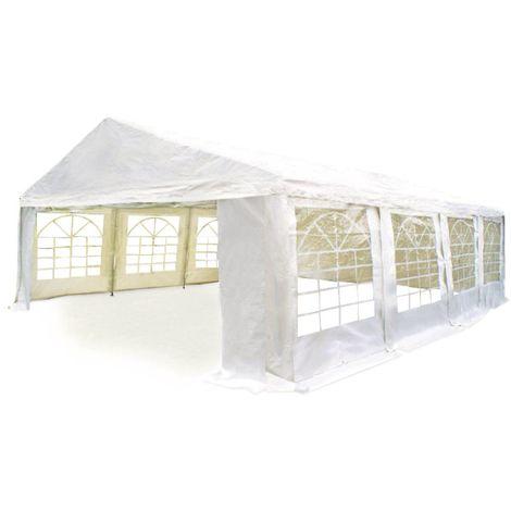 Carpa de recepcion Celia en polietileno - 32 m² - 4 x 8 m