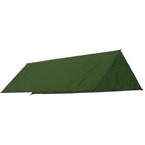 Carpa de sombra a prueba de agua Canopy Sun Shelter Outdoor Beach Camping 300X300cm Green