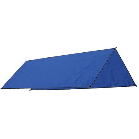 Carpa de sombra a prueba de agua Toldo Refugio al sol Playa al aire libre Camping 300X300cm Azul