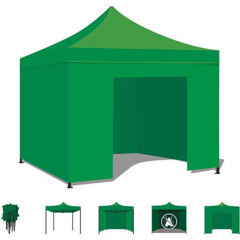 Carpa Jardín / Gazebo 3X3 Carpa plegable impermeable para ferias y mercados Color