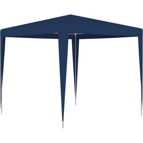 Carpa para celebraciones azul 2,5x2,5 m