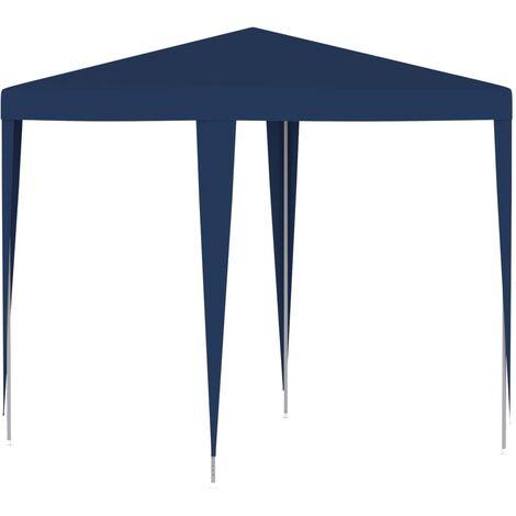 Carpa para celebraciones azul 2x2 m