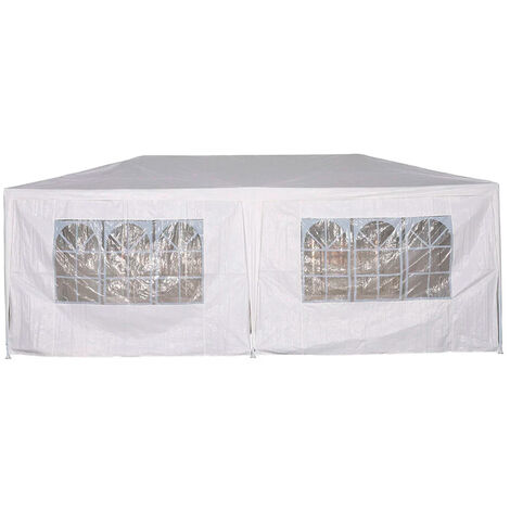 Carpa party PVC 3x6m con ventanas