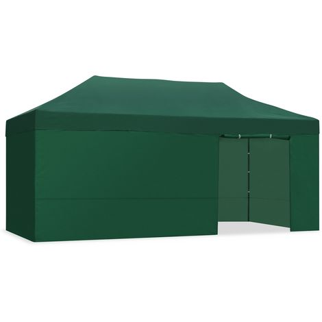 Carpa plegable 3x6m impermeable eventos plegado facil-McHaus