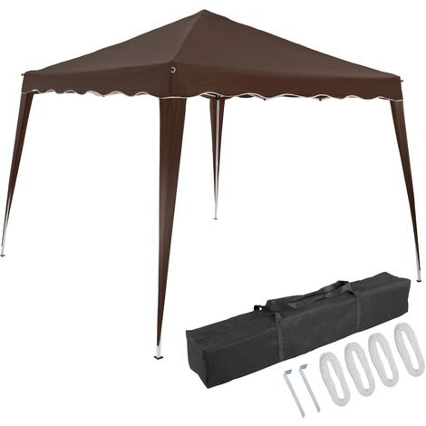 "Carpa plegable ""Capri"" 3 x 3 m con función Popup color Antracita"